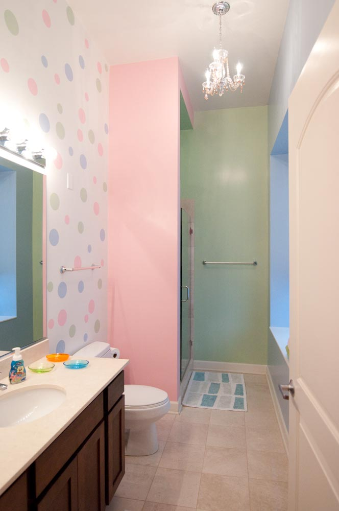 Colored Bathroom
