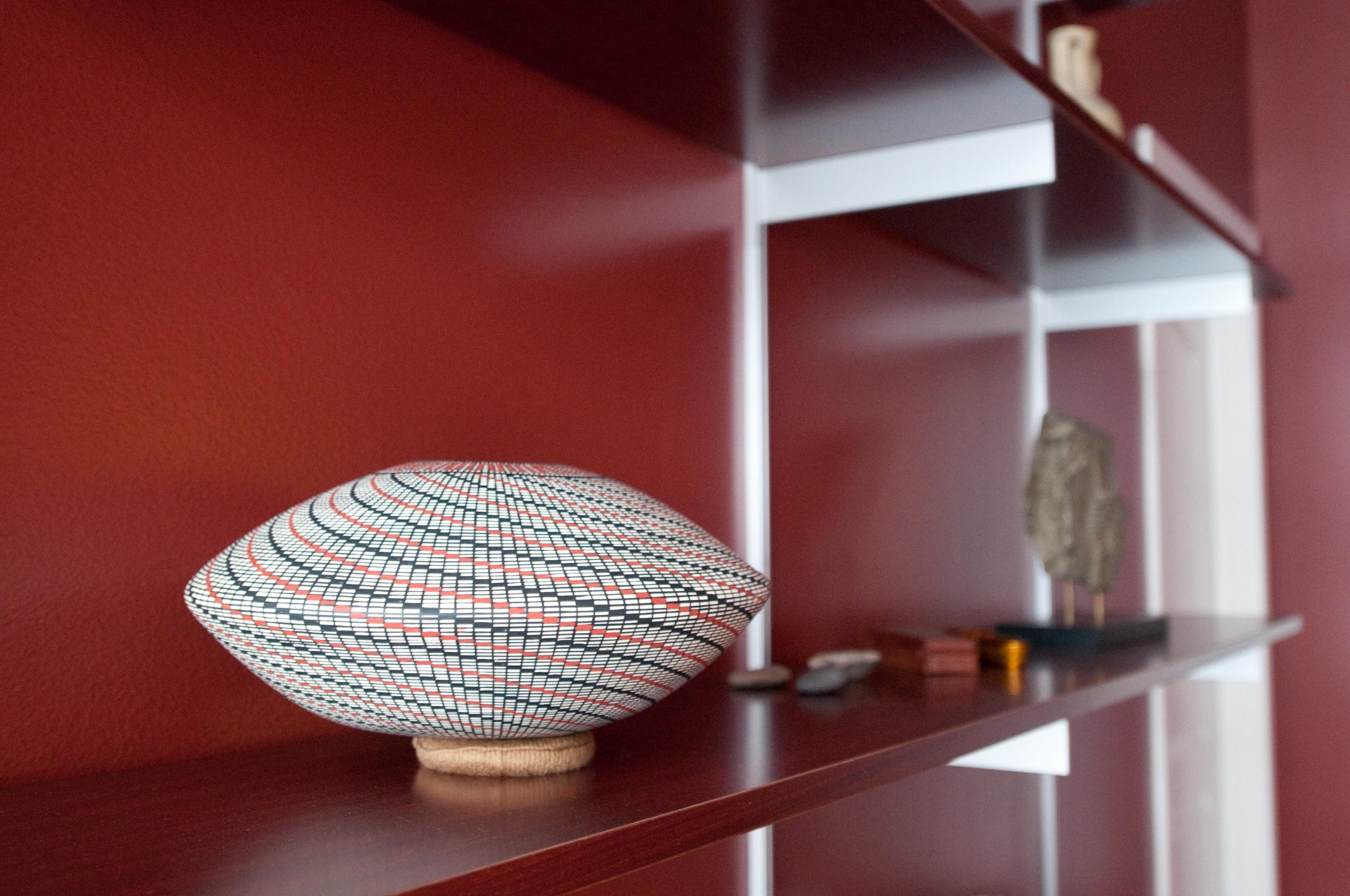 Red Interior Design Accessories