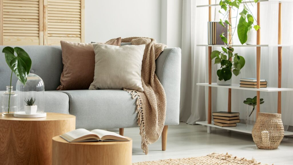 Living Room Home Decorating End Result