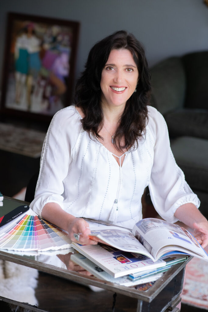 Owner of Paint The Town Red and Color Specialist, Kelly Fitzsimmons