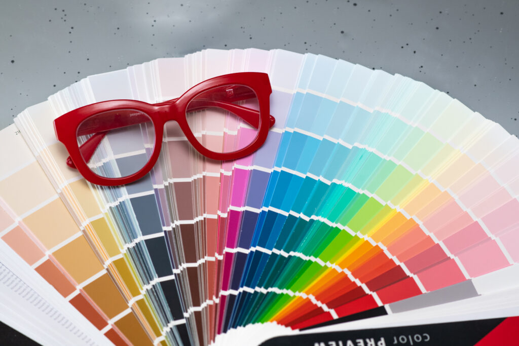 Paint Swatches and Color Samples