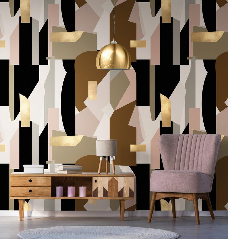 Bold Patterned Wallpaper